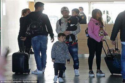 تفریحات لوکس مسی و خانواده اش در تعطیلات 2018