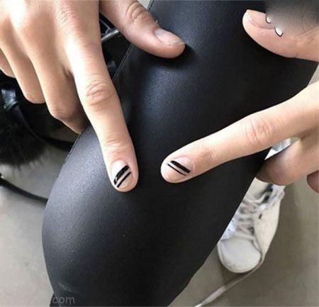 عکس مدل ناخن شیک مد سال 2018   طراحی ناخن 97 در رنگ های مختلف
