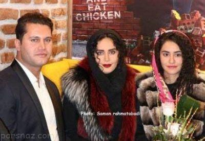 عکس های خانوادگی الناز شاکردوست در رستوران برادرش