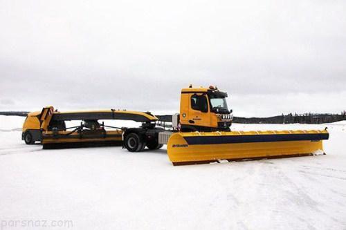 برترین خودروهای برف روب در جهان را بشناسید