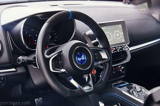 بررسی کامل خودرو آلپاین A110 با طراحی بی نظیر