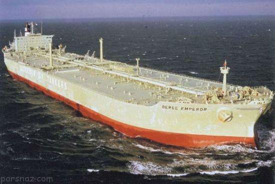 بزرگ ترین نفتکش های غول پیکر جهان را بشناسید
