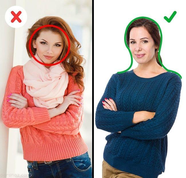 بهترین روش ها برای لاغرتر به نظر رسیدن (نکات جالب لباس پوشیدن)