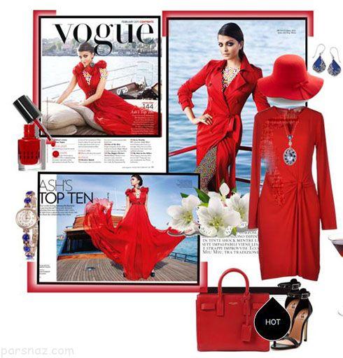 مدل ست لباس ولنتاین به سبک ستاره های محبوب جهان شکیرا و آیشواریا