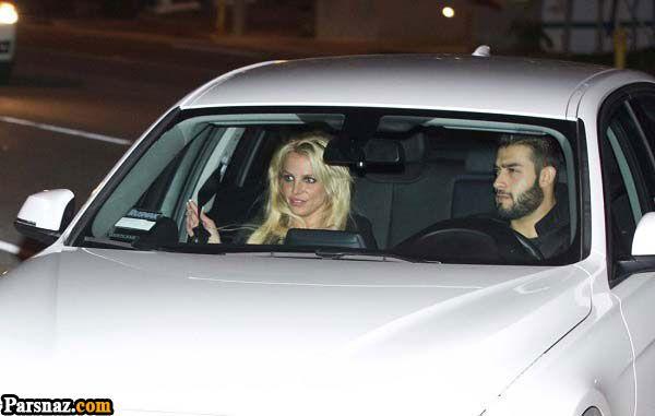 افتخار بریتنی اسپیرز به نامزد ایرانی اش سام اصغری +عکس های بریتنی اسپیرز
