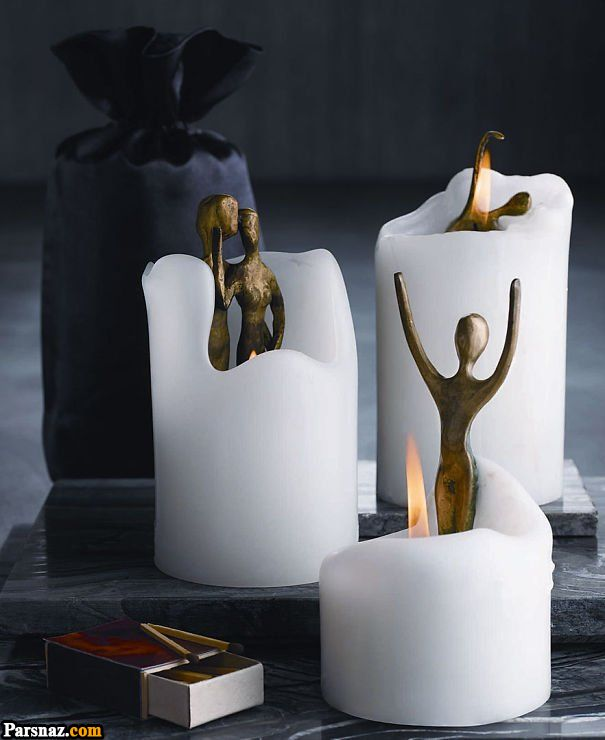 آموزش تزیین مدل شمع 1398 و مدل های شمع سال 98 (46 عکس)