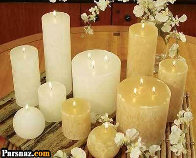 آموزش تزیین مدل شمع 1397 و مدل های شمع سال 97 (46 عکس)