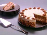 روش تهیه چیز کیک گردو خوشمزه و لذیذ