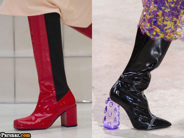 مدل بوت و پوتین دخترانه مد سال 98 | مدل نیم بوت زنانه 2019 (57 مدل کفش)