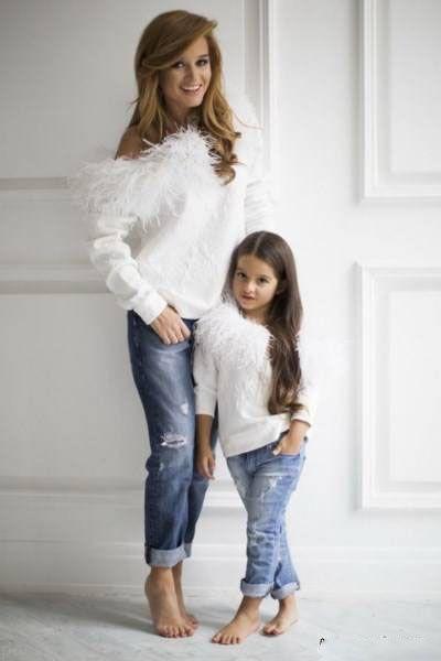 ست مدل لباس مادر و دختر 2019 |مدل های لباس مادر و دختر 98