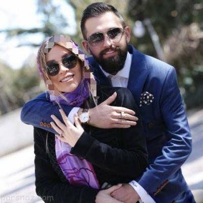 محسن افشانی ازدواج کرد | عکس های جدید محسن افشانی و همسرش