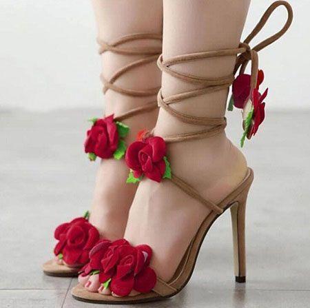 کفش پاشنه بلند 2018 |ژورنال مدل های کفش پاشنه دار زنانه و دخترانه 97