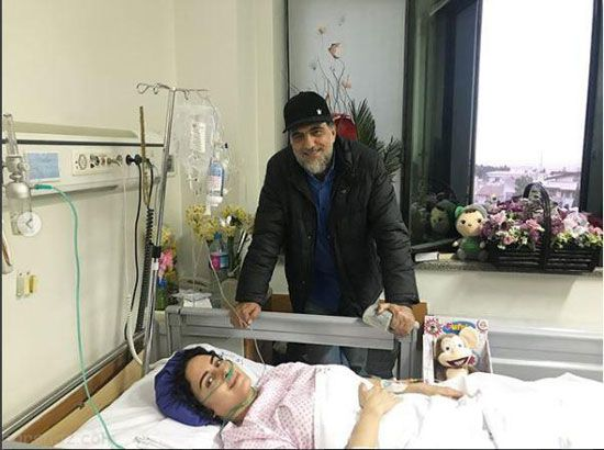 الناز شاکردوست از روزهای سخت بیمارستان می گوید