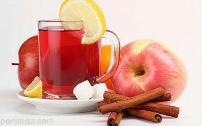 دمنوش سیب و دارچین معجزه ای برای سلامتی