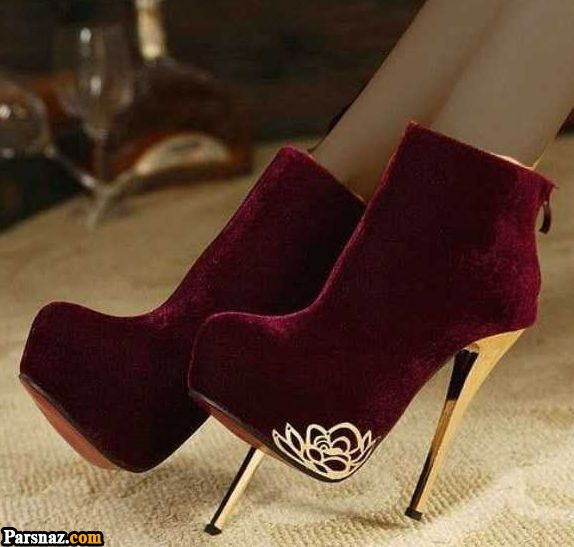 کفش پاشنه بلند 2019 |ژورنال مدل های کفش پاشنه دار زنانه و دخترانه 98