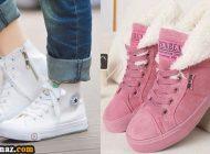 کفش اسپرت کتانی دخترانه 2018 (32 مدل کفش در طرح های زیبای سال 97)