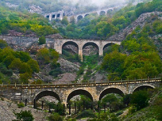 سفر به شمال ایران با از مسیری زیبا با قطار