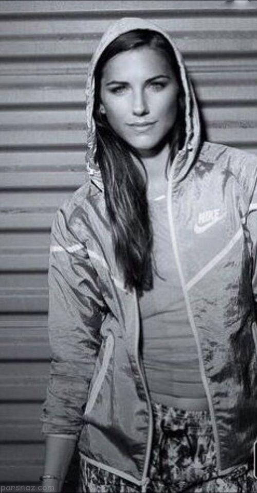 زیباترین زن فوتبالیست مشهور جهان بیوگرافی و عکس های الکس مورگان