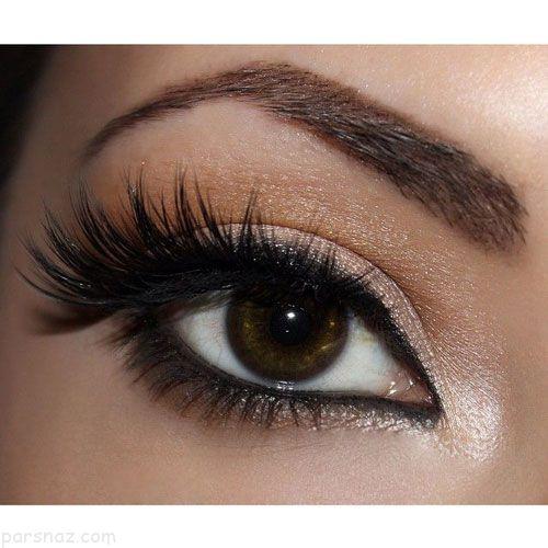 آرایش چشم و ابرو 2019  مدل های آرایش چشم مجلسی و خط چشم 98