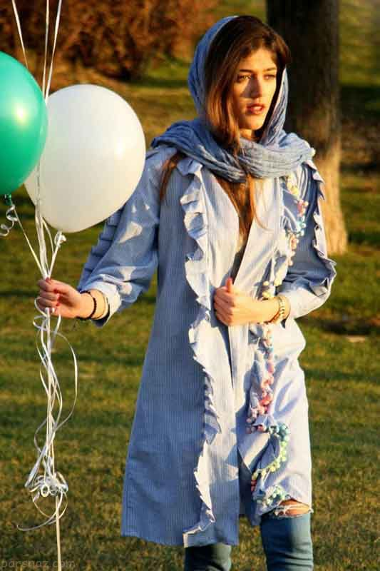 مدل مانتو بهار 97 | مدل های شیک مانتو بهاری 2018 برند Kherghe