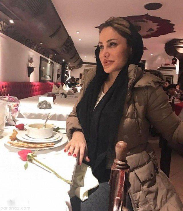 رامانا بدل آنجلینا جولی در اکران فیلم شاخ کرگدن  بدل ایرانی آنجلینا جولی