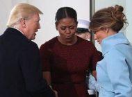 ماجرای هدیه جنجالی ملانیا به همسر اوباما لو رفت +عکس