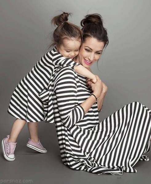 ست مدل لباس مادر و دختر 2018 |مدل های لباس مادر و دختر 97