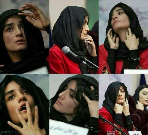 ماجرای جنجالی حرکات مژگان صابری در جشنواره فجر