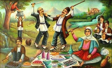 انشا عید نوروز و تعریفی از تاریخچه و مراسم عید نوروز باستانی +عکس
