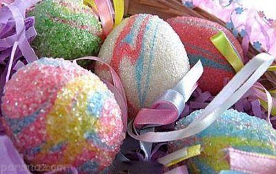 طراحی و تزیین تخم مرغ عید نوروز 97  بهترین ایده ها برای تزئین تخم مرغ عید نوروز 1397