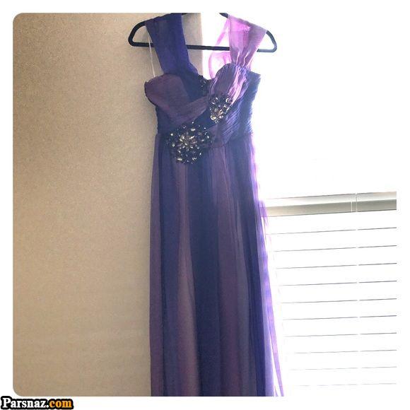 لباس مجلسی بنفش 2018 | 40 مدل لباس مجلسی رنگ سال 97 و 2018