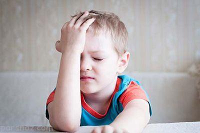 بررسی دلایل و راه درمان سردرد کودکان