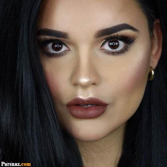 آرایش صورت 2018   انواع مدل های میکاپ و آرایش 97 مجلسی زنانه (99 عکس)
