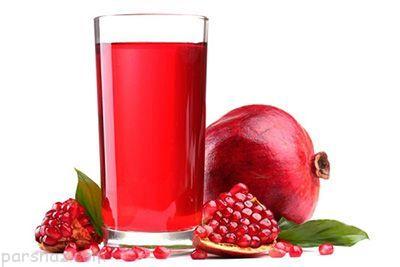 خاصیت های مفید نوشیدن آب انار برای زنان باردار