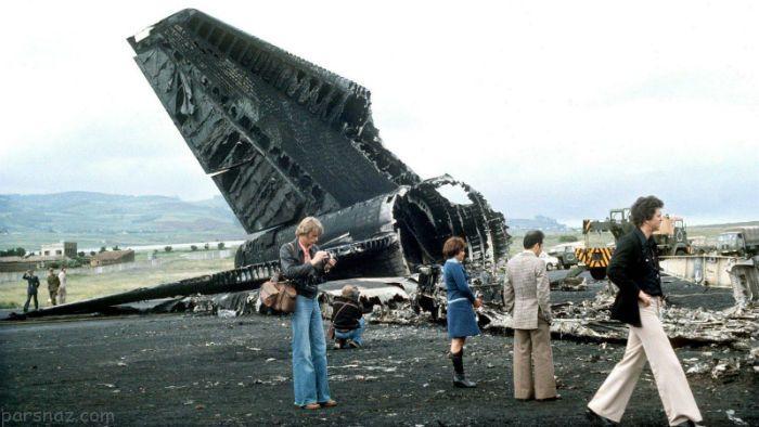 سقوط هواپیما |مرگبارترین سقوط های هواپیما در طول تاریخ +عکس