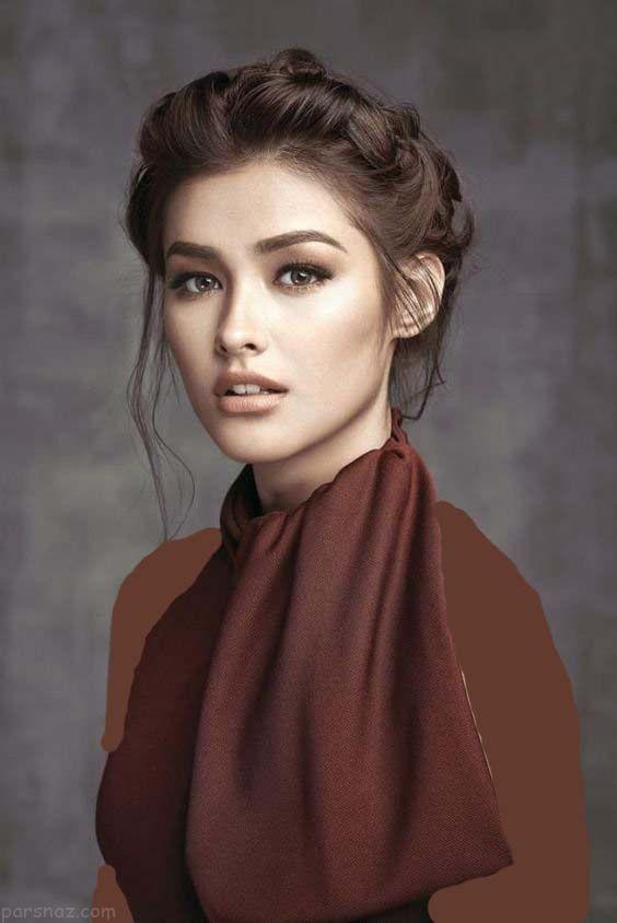 عکس های زیباترین زن فیلیپین لیزا سوبرانو مدل و بازیگر زیبای فیلیپینی