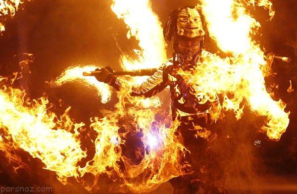 عکس های دیدنی از افتتاحیه المپیک زمستانی پیونگ چانگ
