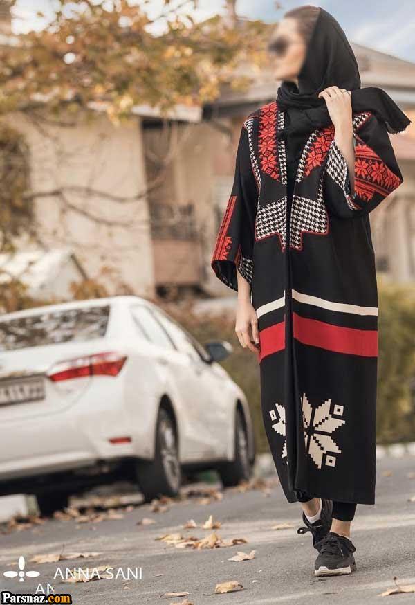 مدل مانتو بنفش رنگ سال 97 و انواع زیباترین مدل های مانتو مجلسی و اسپرت سال 2018