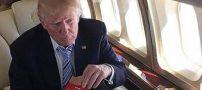 ضایع شدن دونالد ترامپ توسط  همسرش ملانیا جنجالی شد +عکس