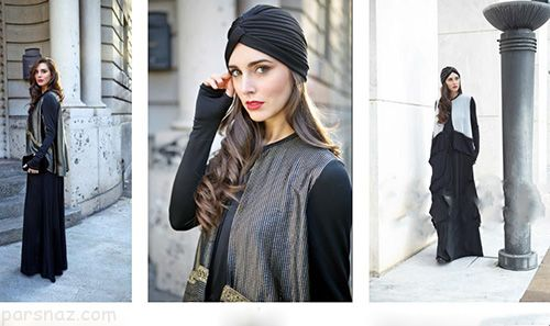 مدل لباس اسلامی جدید |مدلینگ های جذاب و زیبای با حجاب در مد ایتالیا