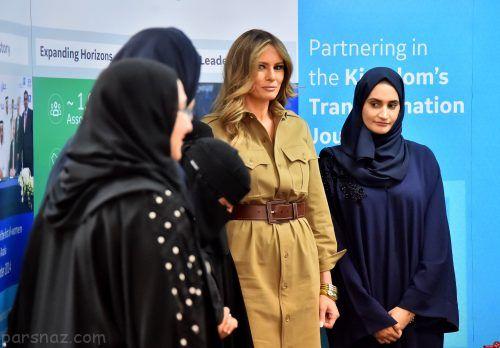 سخنان ملانیا ترامپ درباره رابطه دونالد ترامپ با بازیگران زن +عکس