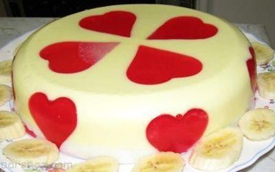 روش تهیه ژله قلبی خوشمزه برای ولنتاین
