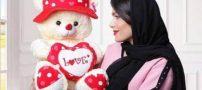 عروسک خرسی ولنتاین |مدل های جدید عروسک خرسی برای کادو ولنتاین (روز عشق)