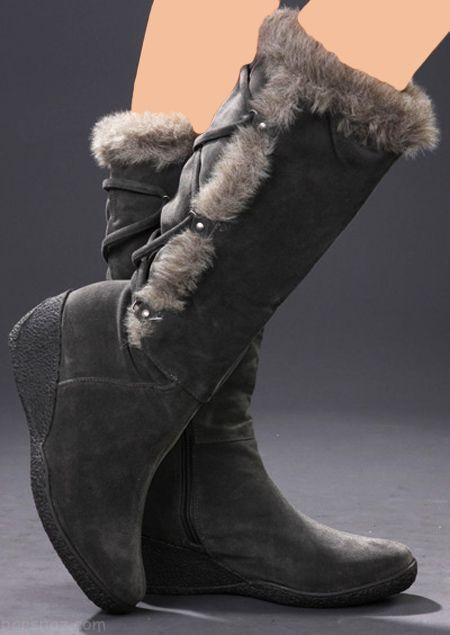 مدل بوت و پوتین دخترانه مد سال 97 | مدل نیم بوت زنانه 2018 (57 مدل کفش)