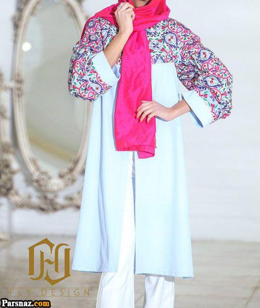 مدل مانتو 1397 در انواع رنگ ها و طرح های زیبای 2018 مخصوص خانم های شیک پوش