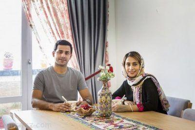 دکوراسیون شیک خانه زوج ایرانی در دهکده المپیک