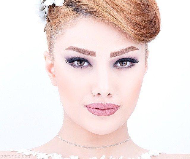 مدل آرایش عروس 2019 |بهترین مدل های آرایش عروس شیک ایرانی و اروپایی 98