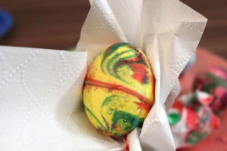آموزش تصویری رنگ آمیزی زیبای تخم مرغ سفره هفت سین (سال 97)