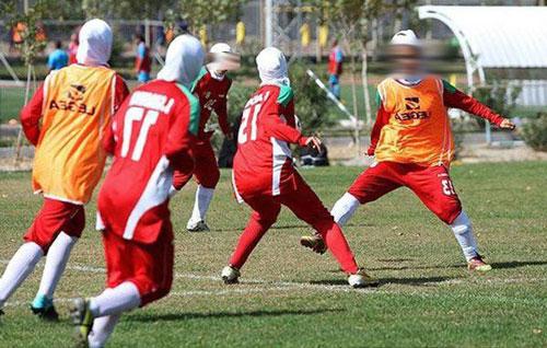دختر فوتبالیست ایرانی که پسر از آب درآمد (ماجرای معصومه)