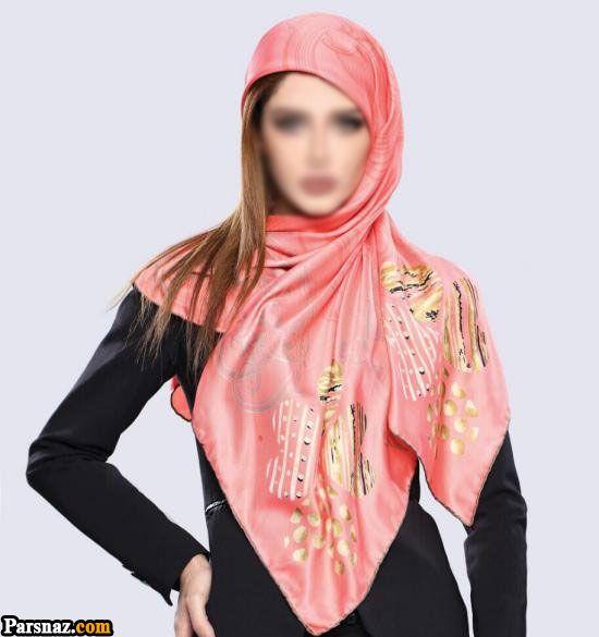 60 مدل شال و روسری مجلسی و اسپرت رنگ سال 97 (سری جدید 2018)